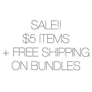 Pants - $5 ITEMS + FREE SHIPPING ON BUNDLES +$20